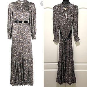 Michael Kors paisley maxi dress XS